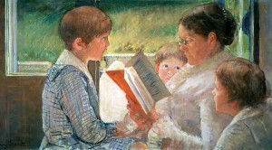 cassat-reading-to-children