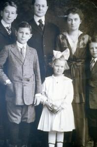 Ware Family, circa 1915